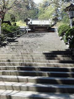 最乗寺の石段
