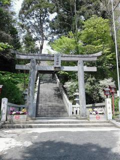 川勾神社の鳥居