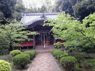 吾妻神社本堂