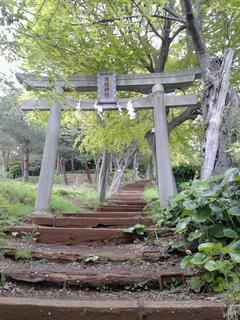 吾妻山公園内浅間神社