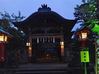 江島神社奥津宮本堂